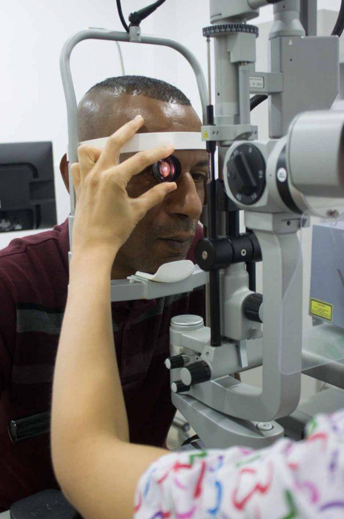 test ophtalmologique